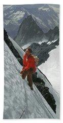 T-202707 Eric Bjornstad On Howser Peak Bath Towel