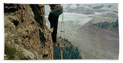 T-902901 Fred Beckey Climbing Bath Towel