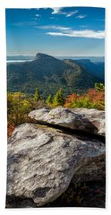 Table Rock Fall Morning Bath Towel
