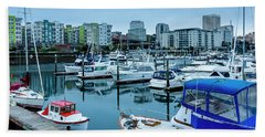 Tacoma Waterfront Marina,washington Bath Towel