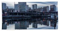 Tacoma Waterfront,washington Hand Towel