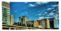 Tacoma,washington.hdr Bath Towel
