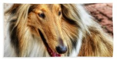 Taffy Collie Bath Towel