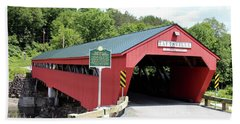 Taftsville Covered Bridge Bath Towel