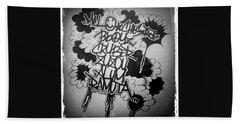 Tagging Bath Sheet by Zyzou Fukuno Daisuke