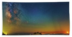 Tahoe Nights Hand Towel