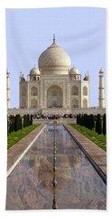 The Taj Mahal - Grand Canyon Mash-up Hand Towel