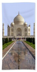 The Taj Mahal - Grand Canyon Mash-up Bath Towel