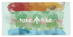 Take A Hike Appalachian Trail Bath Towel