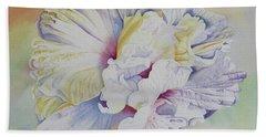 Bath Towel featuring the painting Taking Flight by Teresa Beyer