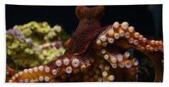Tako Not Taco Hawaiian Octopus Hand Towel