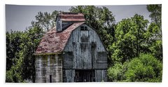 Bath Towel featuring the photograph Tall Barn by Ray Congrove