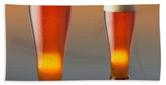 Tall Cold Beer  Hand Towel