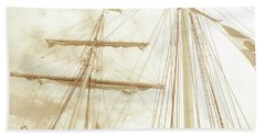 Tall Ship - 1 Hand Towel
