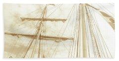 Tall Ship - 1 Bath Towel