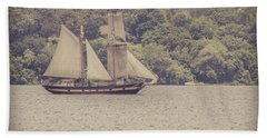 Tall Ship - 2 Hand Towel