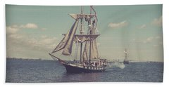 Tall Ship - 3 Hand Towel