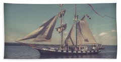 Tall Ship - 4 Hand Towel