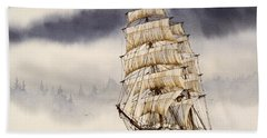 Tall Ship Adventure Bath Towel