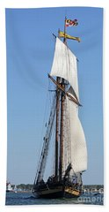 Tall Ship Baltimore Hand Towel