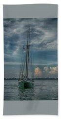 Tall Ship Bath Towel