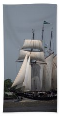 Tall Ships To Nola Bath Towel