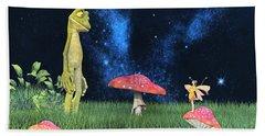 Tall Tales Hand Towel by Betsy Knapp