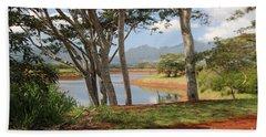 Tanada Reservoir Oahu Bath Towel