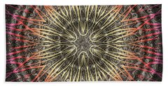 Tangendental Meditation Bath Towel
