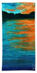 Tangerine Dream  Hand Towel