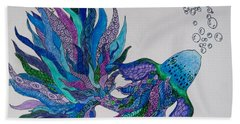 Tangled Fish 4 Hand Towel