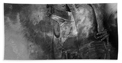 Tango Dancers 01 Hand Towel by Gull G