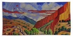Taos Gorge Journey Hand Towel