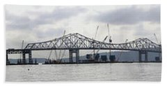 Tappan Zee Bridge From Tarrytown Hand Towel