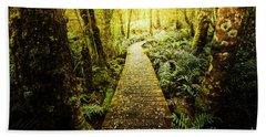 Tarkine Tasmania Trails Bath Towel