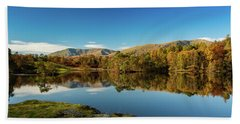 Tarn Hows Bath Towel by Mike Taylor
