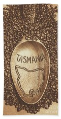 Hand Towel featuring the photograph Tasmania Coffee Beans by Jorgo Photography - Wall Art Gallery