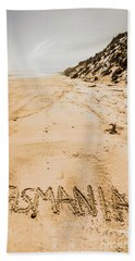 Tasmanian Beach Bliss Hand Towel