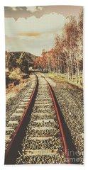 Tasmanian Country Tracks Bath Towel