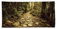 Tasmanian Forest Path Bath Towel