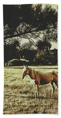Tasmanian Rural Farm Horse Hand Towel