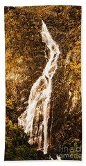 Tasmanian Waterfall Landscape Hand Towel