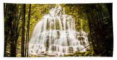 Tasmanian Waterfalls Bath Towel