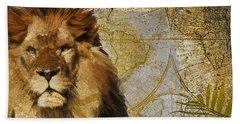Taste Of Africa Lion Hand Towel