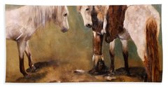 Tatanka Star Pony And The Spirit Of Unbridled Love Hand Towel by Barbie Batson