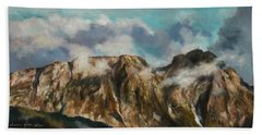 Tatry Mountains- Giewont Hand Towel