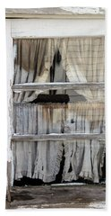 Tattered Bath Towel