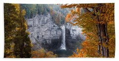 Taughannock Autumn Bath Towel