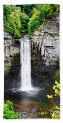 Taughannock Falls View From The Top Bath Towel