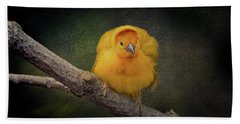 Taveta Golden Weaver  Bath Towel